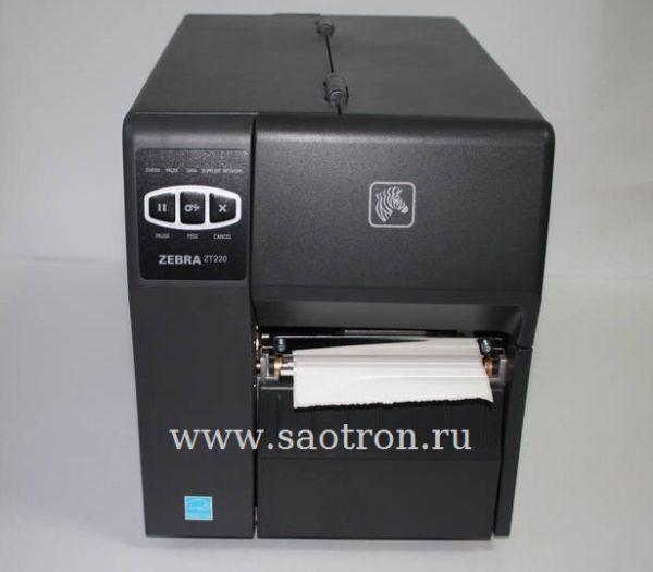 Термо принтер Zebra ZT220 (DT, 203 dpi, RS232, USB) Zebra ZT22042-D0E000FZ