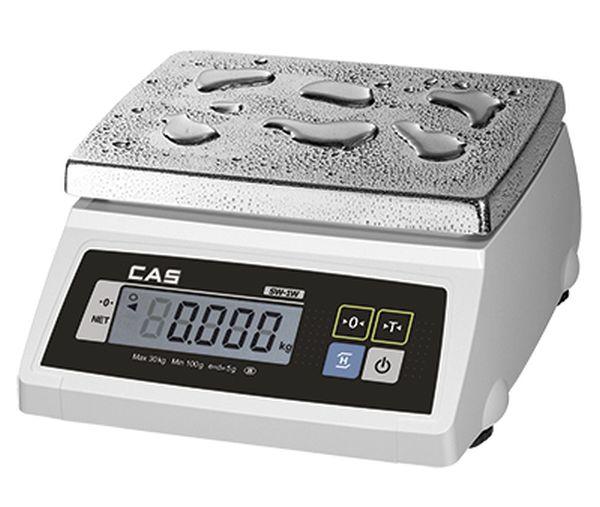 Весы CAS SW 20W (настольные, НПВ: 20 кг)