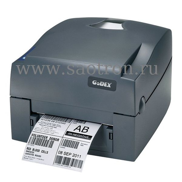 Термотрансферный принтер этикеток Godex G530U ES (300 dpi, USB/RS232/Ethernet)