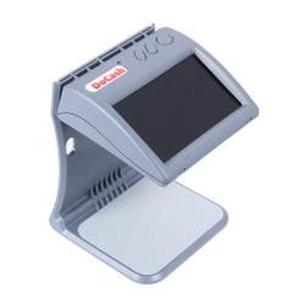 Просмотровый детектор DoCash DVM mini (ИК, серый, компактный, ЖК дисплей)