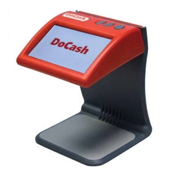 Просмотровый детектор DoCash DVM mini (ИК, красный, компактный, ЖК дисплей)
