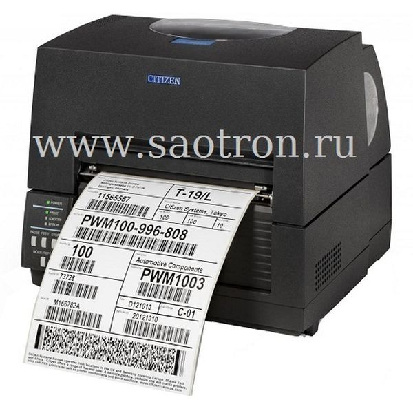 Термотрансферный принтер этикеткок Citizen CL-S6621(203dpi, RS232, USB) Citizen 1000836