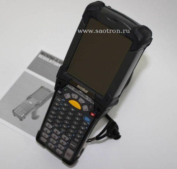 Терминал Zebra / Motorola Symbol MC92N0 GA0SYEYA6WR (Gun, 802.11a/b/g/n, 1D Standard Laser (SE965), VGA Color, 1GB RAM/2GB Flash, 53 Key, CE 7.0, BT)