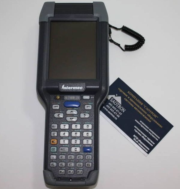 Терминал Intermec CK3XAB4M000W4100 (WLAN, Numeric, EX25) Intermec CK3XAB4M000W4100
