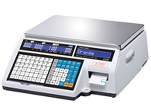 Весы CAS CL5000J-06IB TCP/IP (НПВ: 6 кг, без стойки) CAS CL5000J-06IB