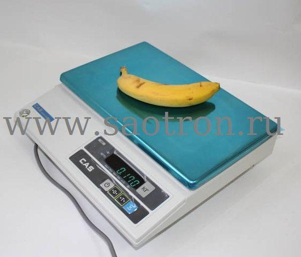 Электронные весы CAS AD-30 (настольные, с дисплеем, НПВ: 30 кг) CAS AD-30