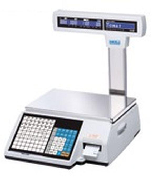 Весы CAS CL5000J 30IP TCP/IP (НПВ: 30 кг, со стойкой)