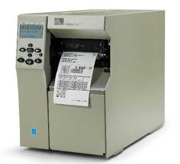 Термотрансферный принтер этикеток Zebra 105 SL Plus (203 dpi, сетевая карта)