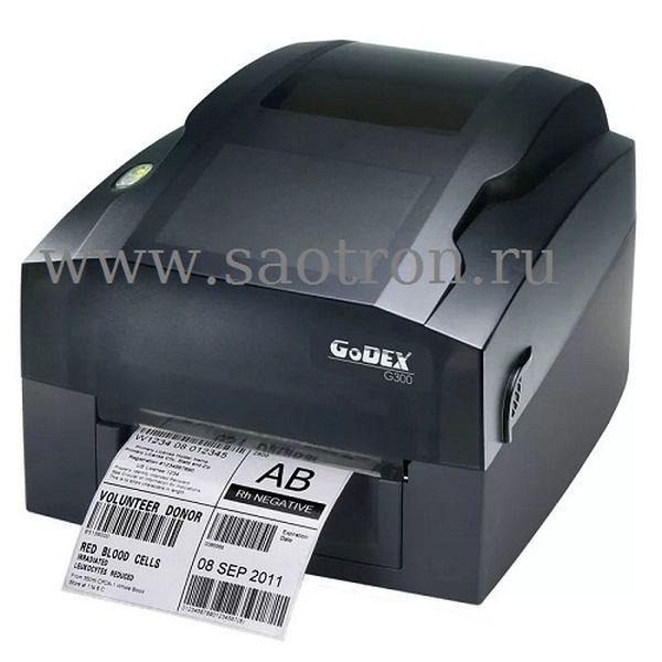 Термотрансферный принтер этикеток Godex G300 (203 dpi, USB/RS232/Ethernet) Godex 011-G30E02-000