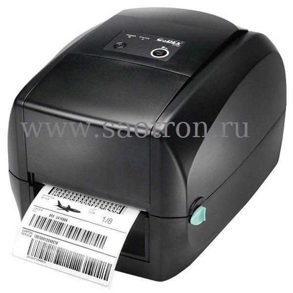 Термотрансферный принтер этикеток Godex RT700 (203 dpi, USB/RS232/Ethernet)