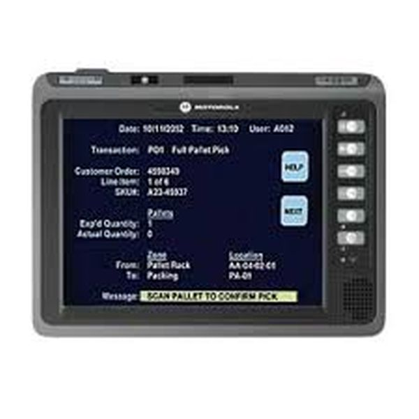 Терминал сбора данных Zebra / Motorola Symbol VC70N0 60VDC U R (VC70N0, Vehicle Mount Computer, 10.4 1024X768 LED Backlit Touch Screen Display, Windows Compact 7