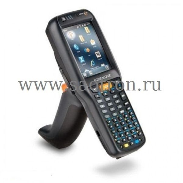 Терминал Datalogic Falcon X3+ (Pistol grip, 802.11 a/b/g CCX v4, BT v2, 256MB RAM, 256MB Flash, 52-key Alpha numeric, Auto ranging laser (XLR). WinCE) Datalogic 945250038