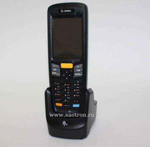 Комплект терминала сбора данных Zebra / Motorola Symbol K MC2180 MS12E CD2 (WLAN, 1D Laser, Win CE 6 Pro, 256MB RAM, 256 MB ROM, в комплекте подставка, БП, кабель)