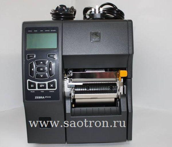 Принтер этикеток Zebra ZT41046-T0E0000Z (600 dpi, USB/RS232/Ethernet/BT) Zebra ZT41046-T0E0000Z