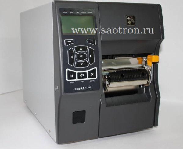 Принтер этикеток Zebra ZT41042-T0E00C0Z (203 dpi, USB/RS232/Ethernet/BT, UHF RFID) Zebra ZT41042-T0E00C0Z