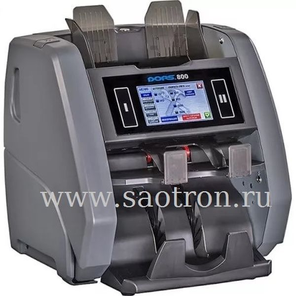 Счетчик банкнот DORS 800 Multi (5 валют) NEW DORS DORS800Multi