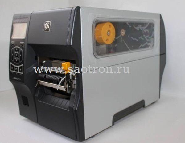 Принтер этикеток Zebra ZT41043-T3E0000Z (300 dpi, USB/RS232/Ethernet/BT, отделитель, намотчик подложки) Zebra ZT41043-T3E0000Z