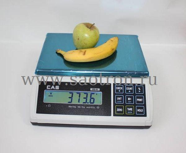 Весы настольные CAS ED 15Н