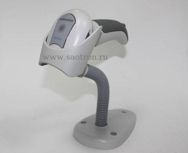 Сканер Datalogic QuickScan QD2430 WHK1S KIT: USB (2D, белый, в комплекте кабель USB, подставка) (с чтением ШК ЕГАИС)