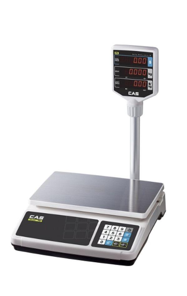Весы CAS PR 6P (НПВ: 6 кг, со стойкой)