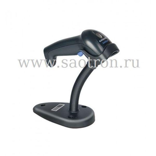 Сканер Datalogic QuickScan QD2430 BKK1S KIT: USB (2D, черный, в комплекте кабель USB, подставка) (с чтением ШК ЕГАИС)