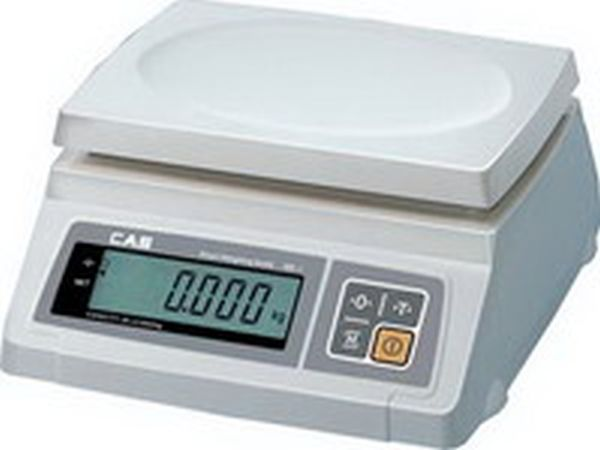 Весы CAS SW 02 DD (настольные, НПВ: 2 кг)