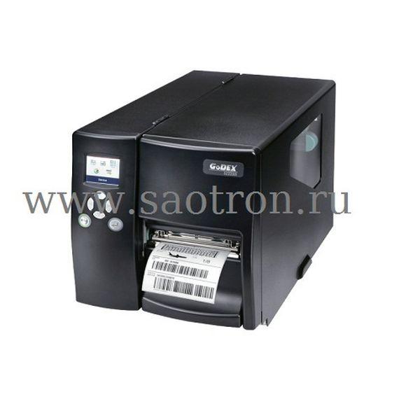 Термотрансферный принтер этикеток Godex EZ-2250i (203dpi, цветной ЖК дисплей, и/ф RS232/USB/TCPIP+USB HOST) Godex 011-22iF02-000
