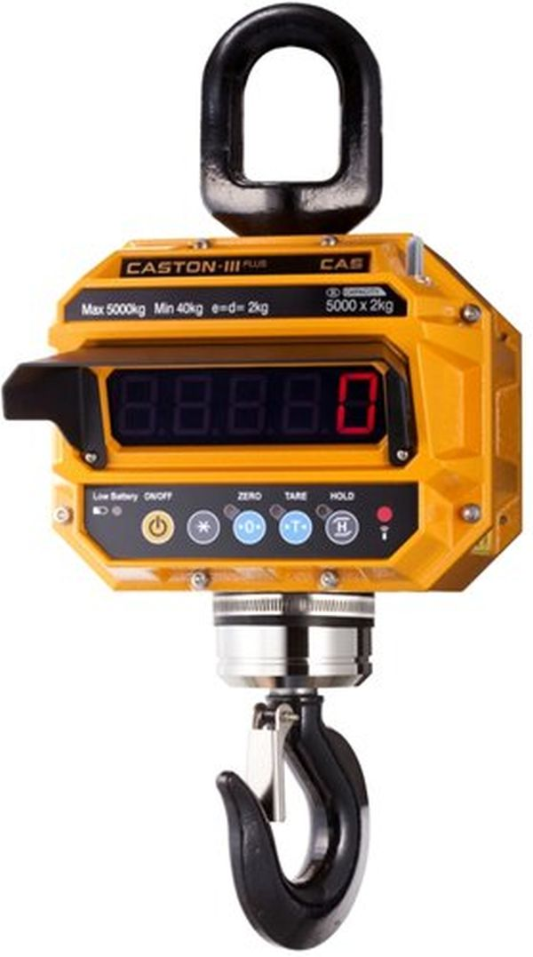 Весы крановые 10THD крюк Caston III CAS 10-THD