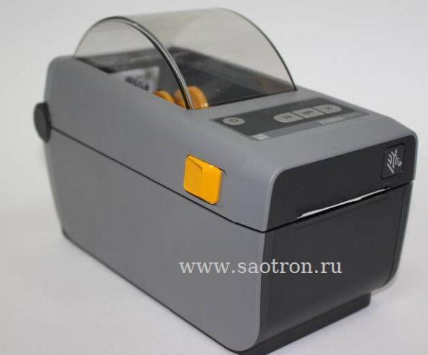 Термопринтер этикеток Zebra ZD410 (203 dpi, USB, bluetooth, Сетевая карта 10/100 Ethernet)