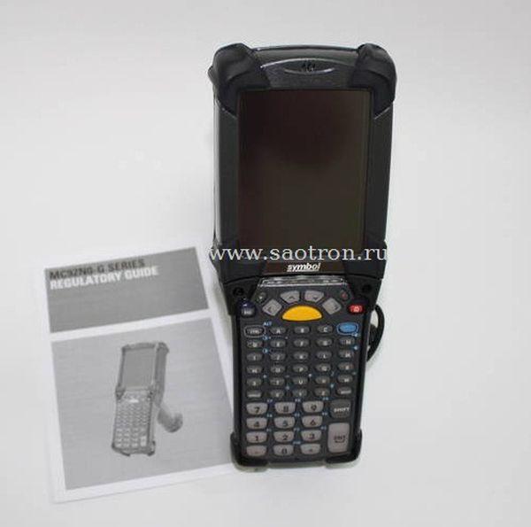 Терминал Zebra / Motorola Symbol MC92N0-GA0SXFYA5WR (Gun, 802.11a/b/g/n, 1D Standard Laser (SE965), VGA Color, 512MB RAM/2GB Flash, 43 Key, CE 7.0, BT) Motorola Symbol MC92N0-GA0SXFYA5WR
