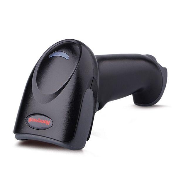 Сканер штрих-кодов Metrologic 1450G 2D KIT: USB (черный, в комплекте кабель USB, с подставкой) (с чтением ЕГАИС) HoneyWell 1450G2D-2USB-1