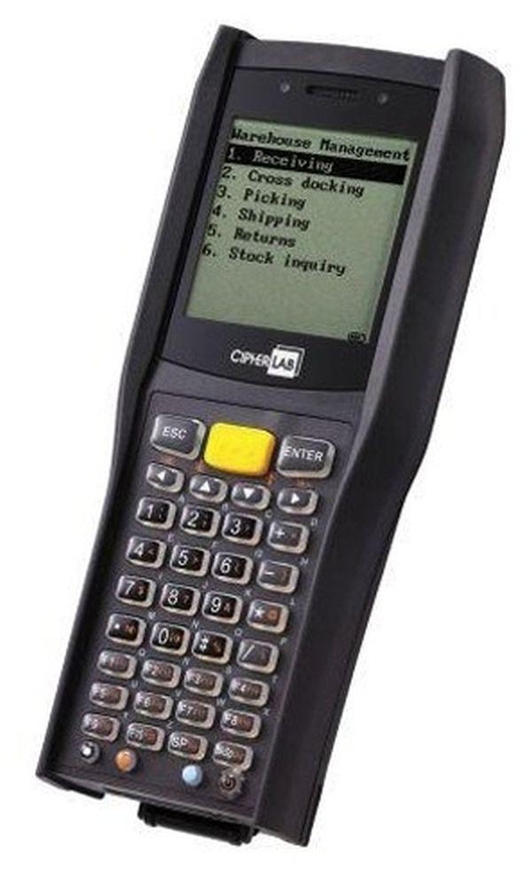Терминал сбора данных CipherLab 8400L 16МБ (лазерный считыватель,БП, USB кабель)