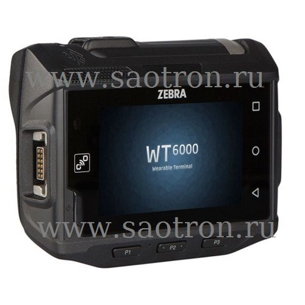 Терминал Zebra WT6000 WT60A0-TS0LEWR (CAPACITIVE TOUCH DISPLAY, ANDROID 5.1, 802.11 A/B/G/N AC, 3350 MAH STD BATTERY, 1GB RAM/4GB FLASH, ENG) Zebra WT60A0-TS0LEWR