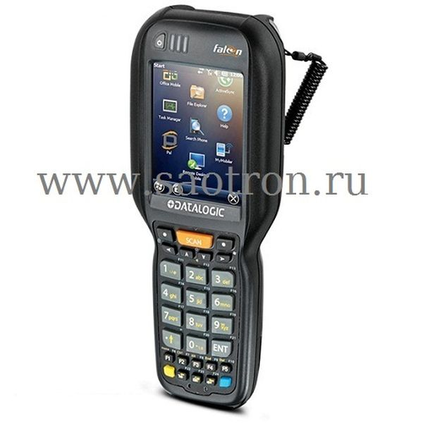 Терминал Datalogic SKORPIO X3 (WIFI 802.11 a/b/g CCX v4, BT v2, 2D imager w Green Spot. 256MB RAM/512MB Flash, 28 Key Numeric, Windows CE 6.0)