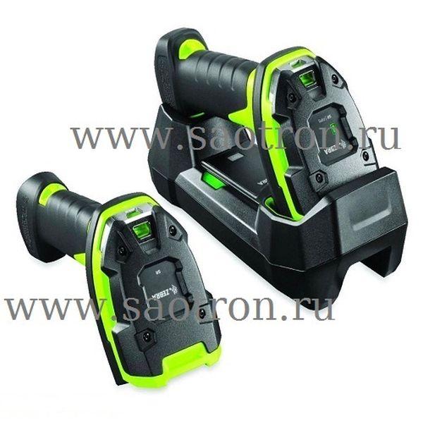 Сканер штрих-кода Zebra DS3678-ER3U4212SVW KIT: USB (ER Rugged Green, в комплекте подставка STB3678-C100F3WW, БП PWRS-14000-148R, кабели DC и AC) Zebra DS3678-ER3U4212SVW