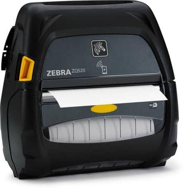 Мобильный принтер Zebra ZQ520 DT (USB, WLAN, ширина печати 104 мм, Active NFC)