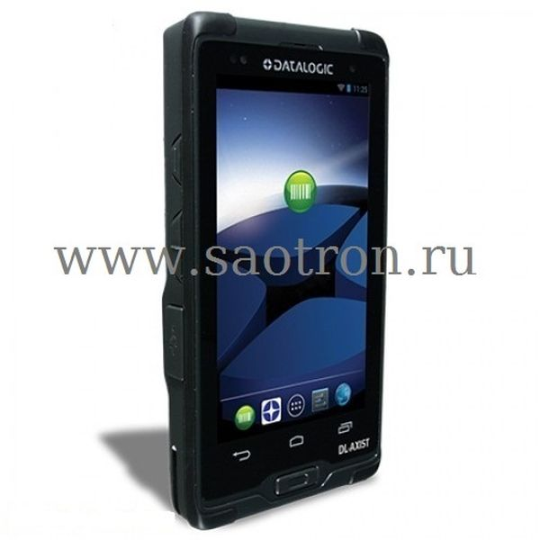 Терминал сбора данных Datalogic DL-Axist (Full Touch PDA, 3G/4G HSPA, 802.11 a/b/g/n, BT v4, NFC, 2D Image Green spot, Android v4, 1GB RAM/8GB Flash) Datalogic 944600003