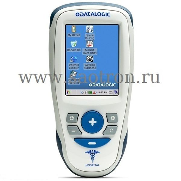 Мобильный компьютер Joya X2 (WiFi 802.11 b/g/n, Bluetooth, 2D Imager, Green Spot, Color, Touch Screen, 256 MB RAM / 1 GB Flash, Win CE 6.0, Wavelink) Datalogic 911300150