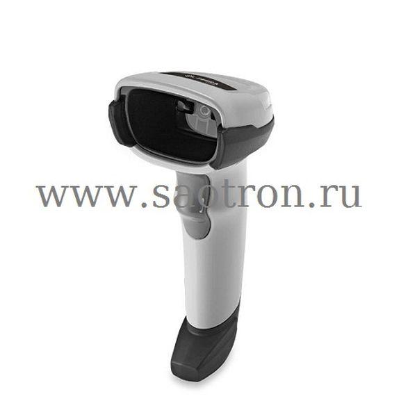 Сканер штрих кода Zebra DS8108 SR6U2100SGW KIT: USB (SR, белый, в комплекте подставка и кабель USB)