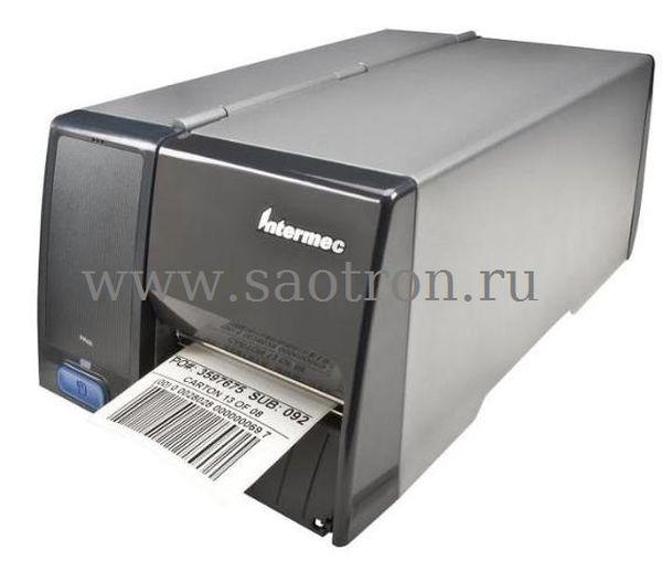 Принтер этикеток Intermec PM43C (TT, 203 dpi, Icon, USB/RS232/Ethernet, Long door, EU Power Cord) Intermec PM43CA0100000202