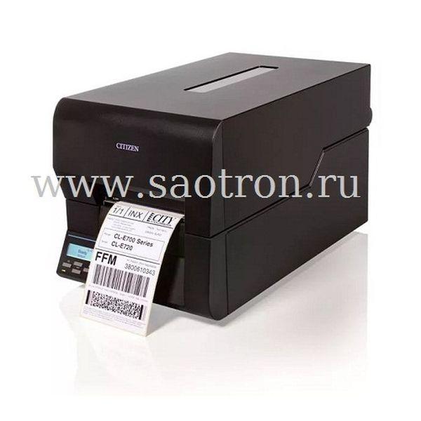 Термопринтер этикеток Citizen CL E720 (203 dpi, черный, USB/Ethernet]