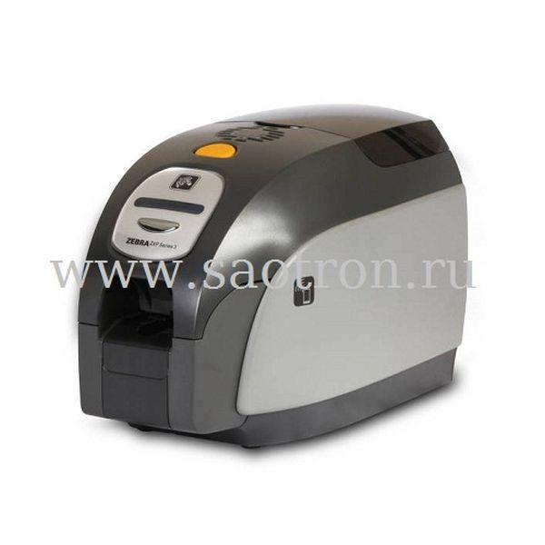Принтер пластиковых карт Zebra ZXP3 (двусторонний цветной, Contact Station, замок корпуса, USB, Ethernet) Zebra Z32-E0AC0200EM00