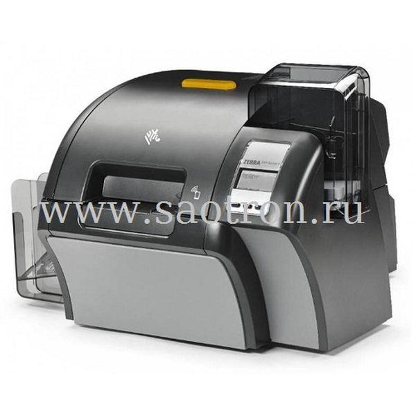 Принтер пластиковых карт Zebra ZXP9 (односторонний ретрансферный, Contact Encoder and Contactless Mifare, Mag Encoder USB, Ethernet) Zebra Z91-AM0C0000EM00