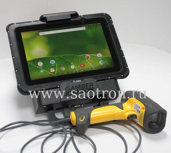 Промышленный планшет Zebra ET55 (10.1, WAN EMEA\APME, WIN8.1, Z3795, 4GB RAM\64GB FLASH, ENG) Zebra ET55RT-W22E