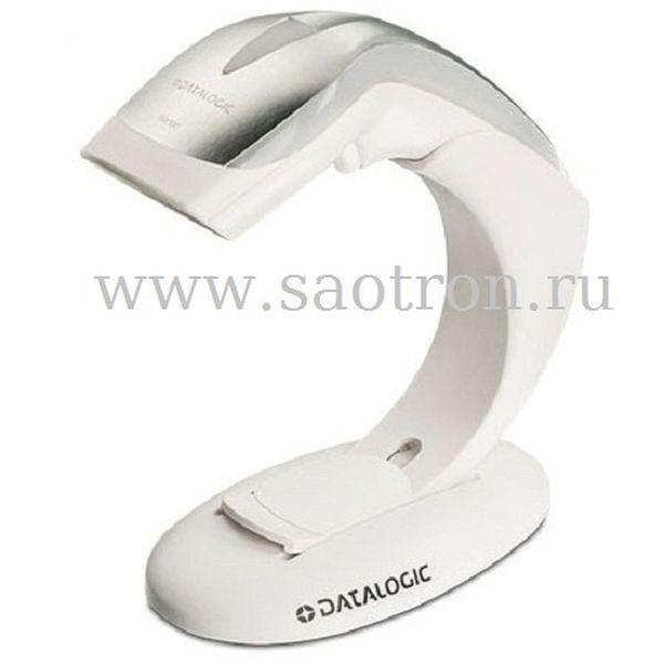 Сканер штрих кода Datalogic Heron HD3430 KIT: (2D, Autosense подставка, USB кабель, белый)