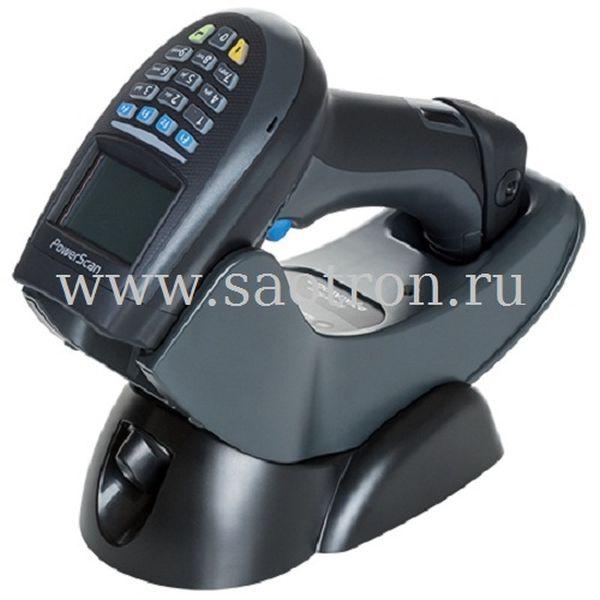Сканер Datalogic PowerScan Retail PM9500 USB KIT: (2D, 910MHz, Black, Rem Batt, PM9500-BK-910-RT, BC9030-BK-910-BP, 8-0935 and CAB-438) Datalogic PM9500-BK910-RTK10