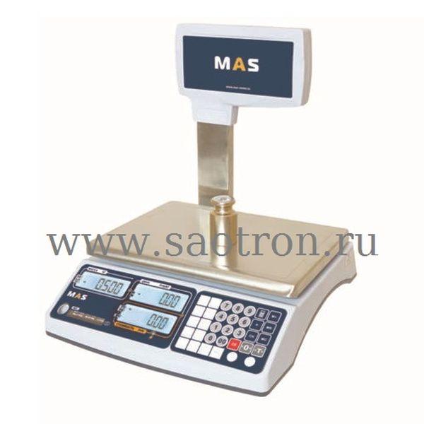 Весы торговые MASTER MR1 15P (НПВ:15 кг , со стойкой)