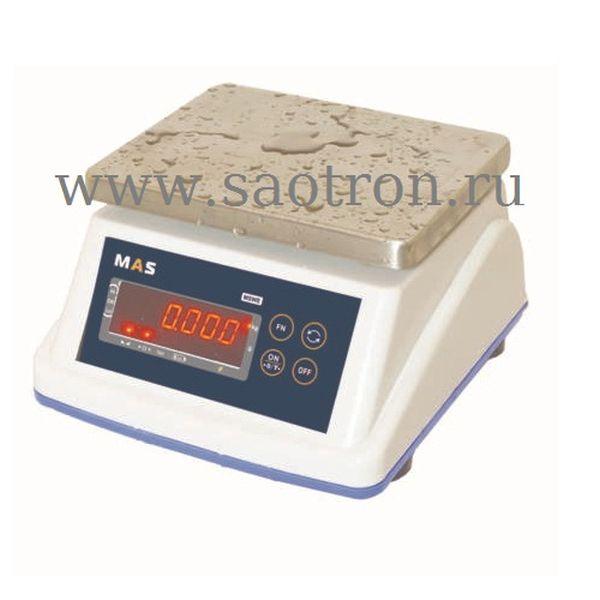 Весы порционные пылевлагостойкие MASTER MSWE-06 (НПВ:6 кг, IP-67 ) МАС MSWE-06