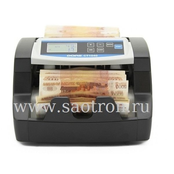 Счетчик банкнот DORS CT1040U NEW