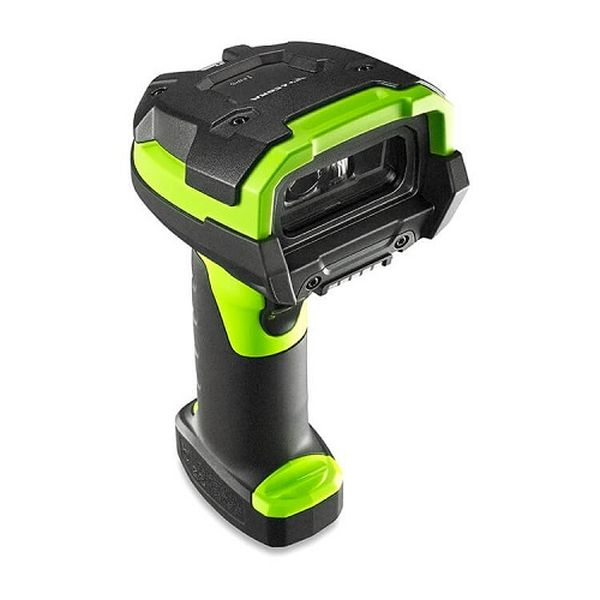 Сканер штрих кода Zebra DS3678 SR0F003VZWW (Rugged, Area Imager, Standard Range, Cordless, Fips, Industrial Green, Vibration Motor)